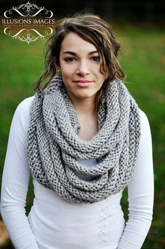 Knitting Pattern For Rope Cowl Ad Quick Easy Project You Can