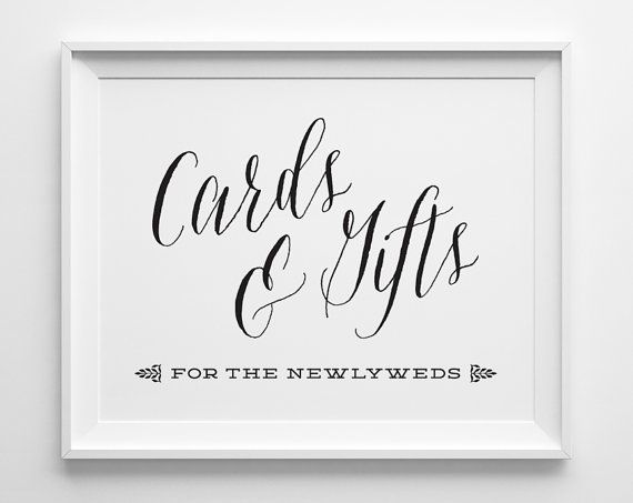 Printable Cards And Gifts Sign Printable Wedding Signs Romantic