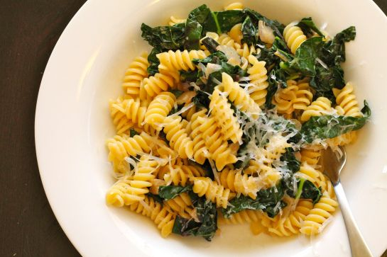 beet green pasta by kitchen notes and other sundries