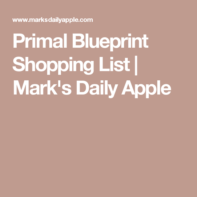 Primal blueprint shopping list shopping apples and shopping lists primal blueprint shopping list malvernweather Choice Image