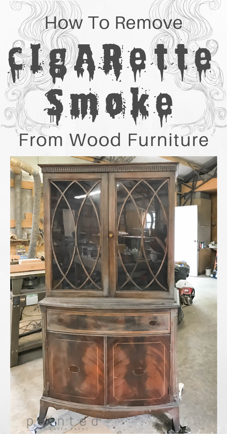 How To Remove Smoke Smell From Wood Furniture Painting
