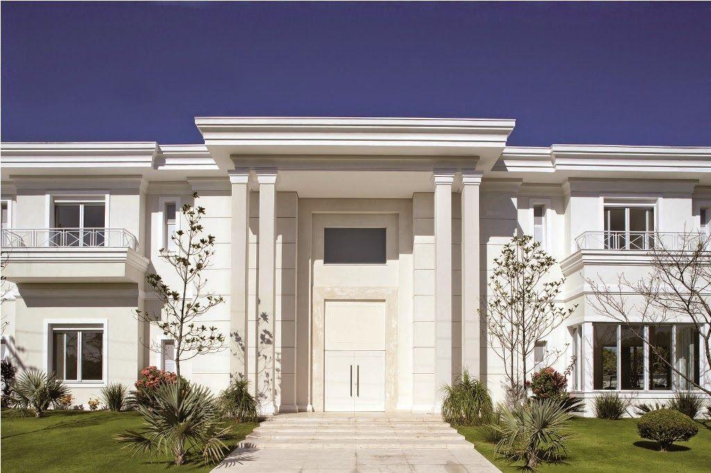 Casas em estilo neocl ssico blog jba im veis casa Casa clasica moderna