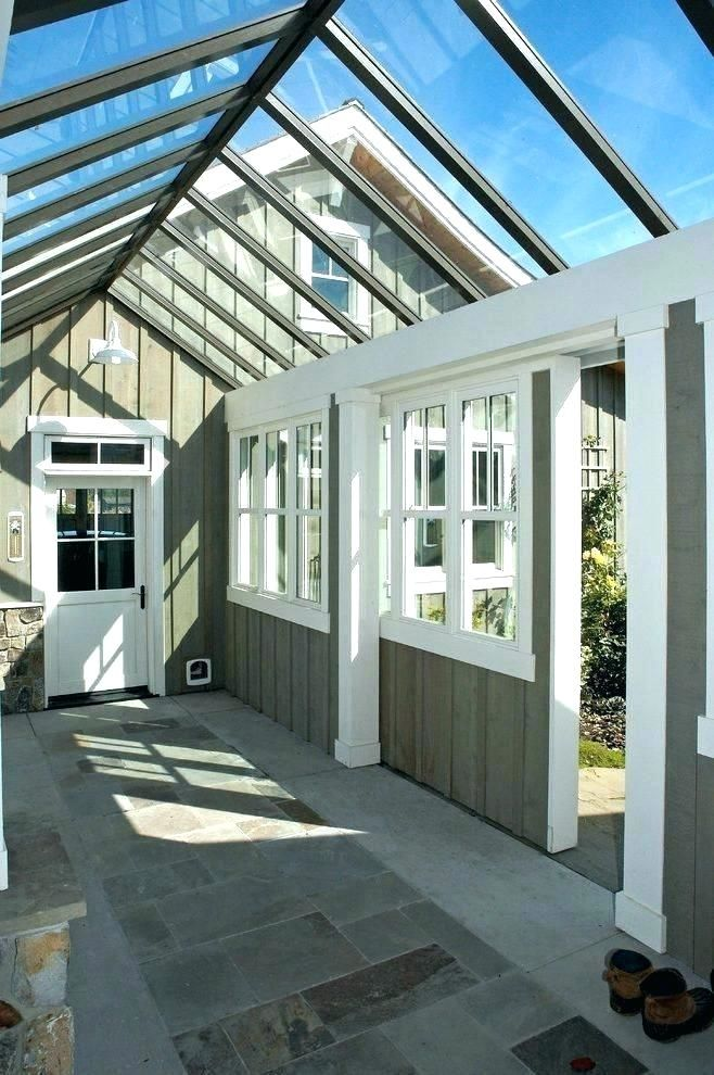 open breezeway to garage Google Search Home greenhouse