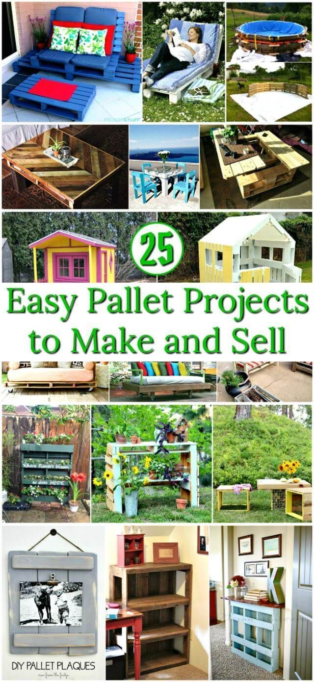 30 Pallet Projects That Are Easy to Make and Sell   Easy ...