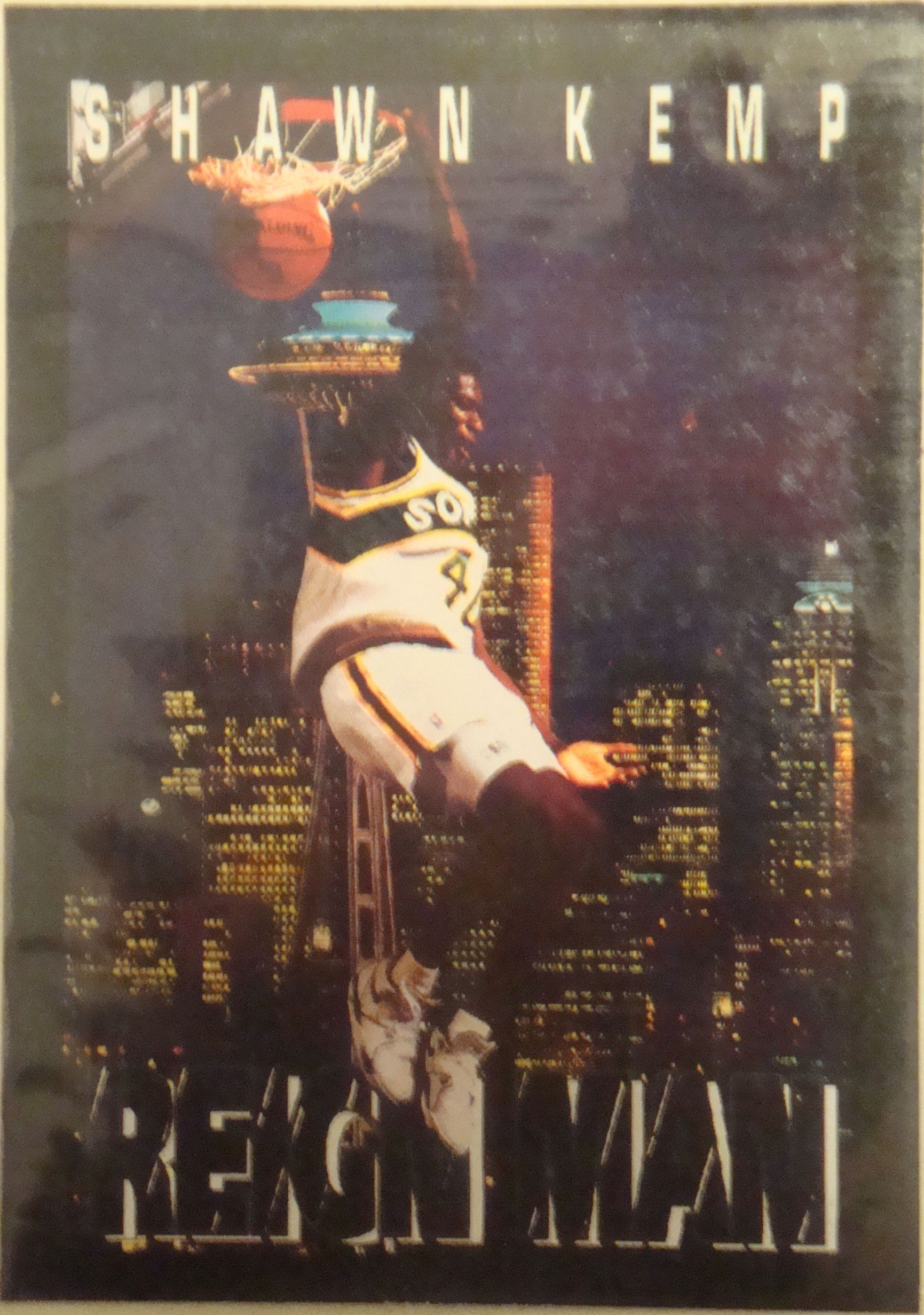 Shawn Kemp basketball card Kemp, Basketball cards