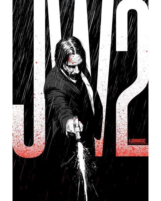 John Wick ei välitä, mitä jättää jälkeensä. ⚡️  JOHN WICK: CHAPTER 2 elokuvateattereissa nyt           @NordiskFilmFi