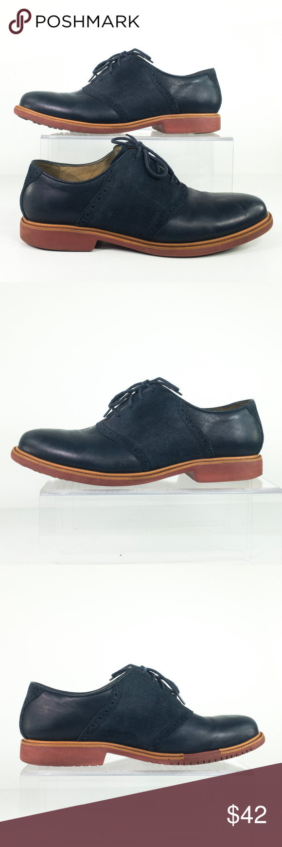 Cole Haan Oxford Grand OS Suede Leather