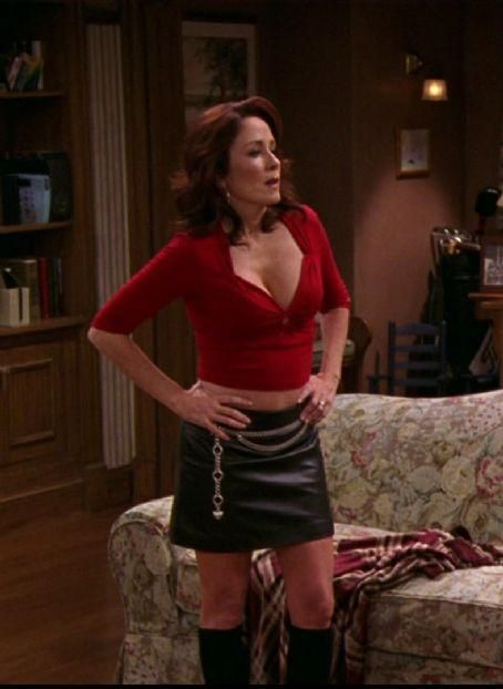 Patricia heaton leather pants something