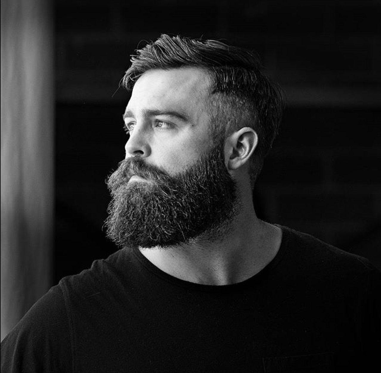 Hipster men haircut shane mrstholloway  beards  pinterest  beard styles hipster