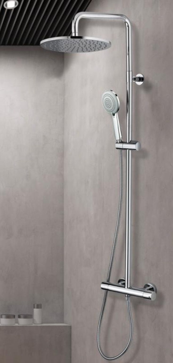 Bossini Cosmo Das Duschsystem verfügt über