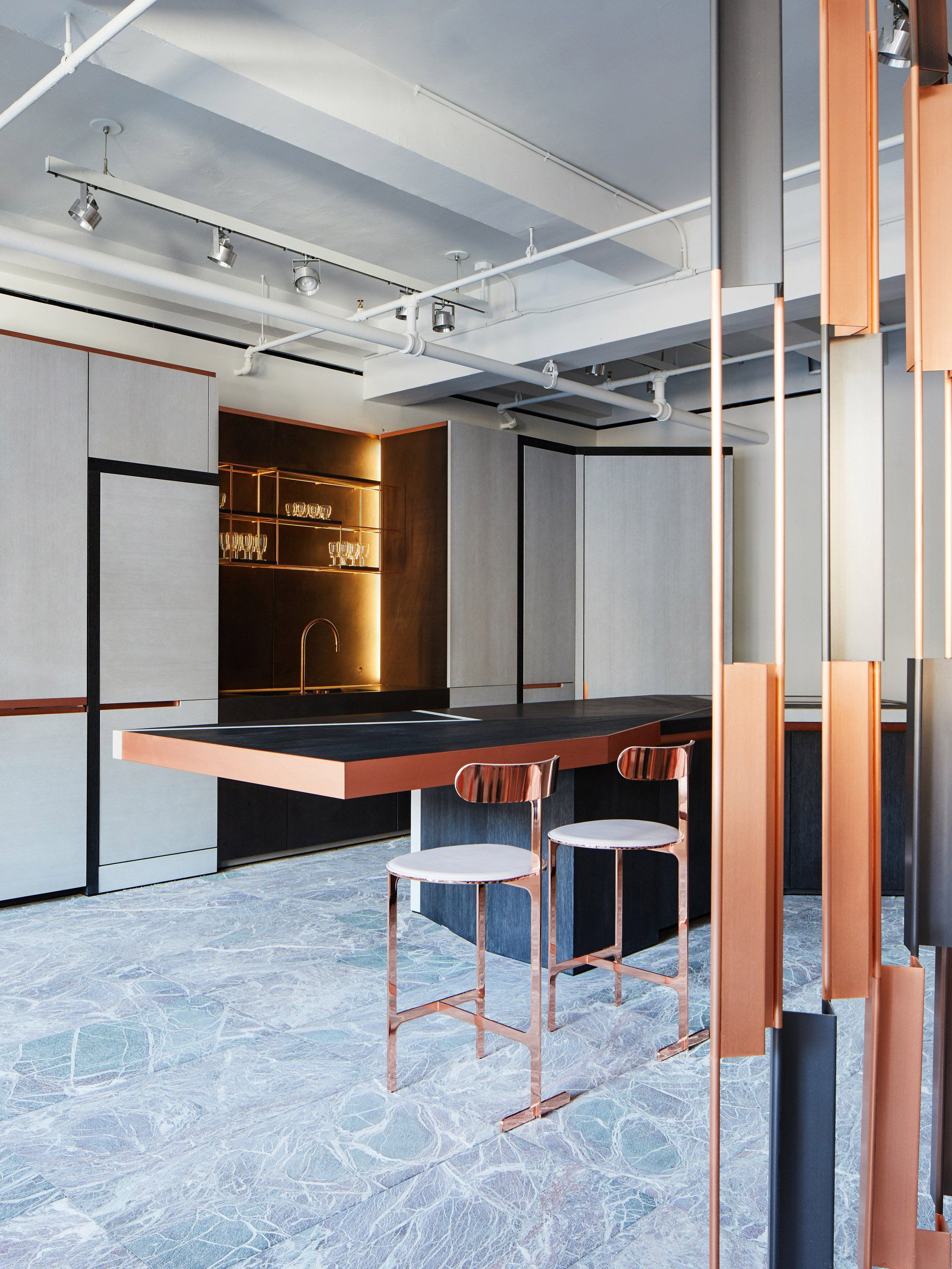 Design Retailer Avenue Road Has Added A New Floor To Its Showroom In New York Laid Out Like An Apartment Kitchen Design Trends Interior Design Magazine Design
