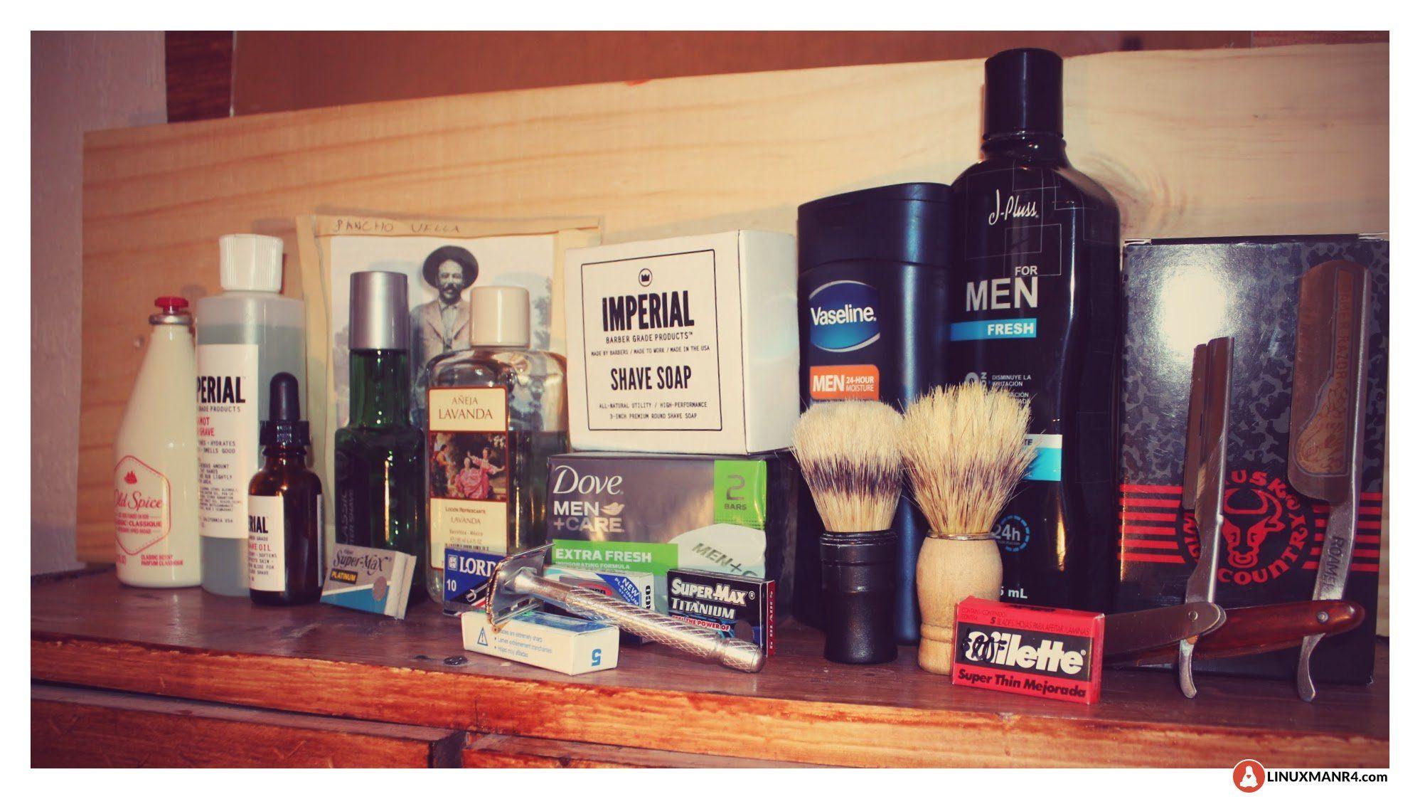 Algunos de mis artículos para el afeitado clásico  c40a724120e7