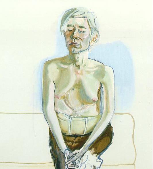 Alice Neel's portrait of Andy Warhol | Andy warhol, American art, Warhol art