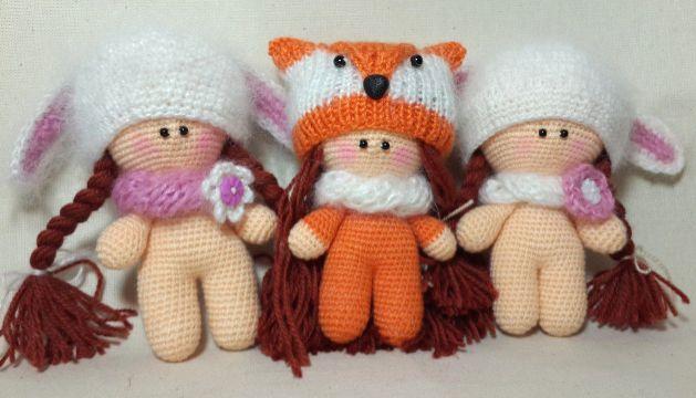 Amigurumi Puppe frei häkeln Muster | Häkeln | Pinterest | Amigurumi ...