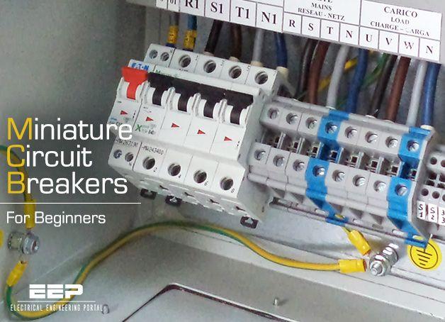 Miniature Circuit Breakers Mcbs For Beginners Electrical