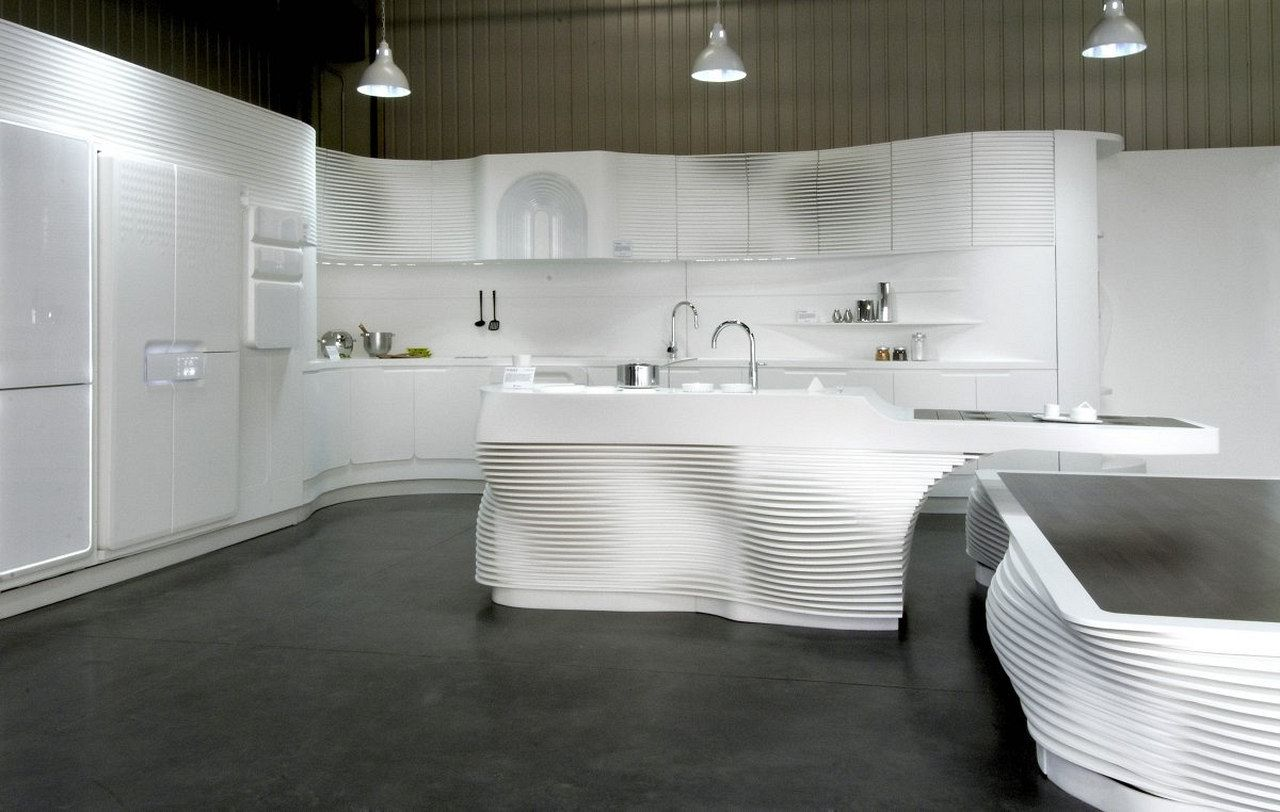 HI-MACS Kitchen by LG Hausys | Pinterest