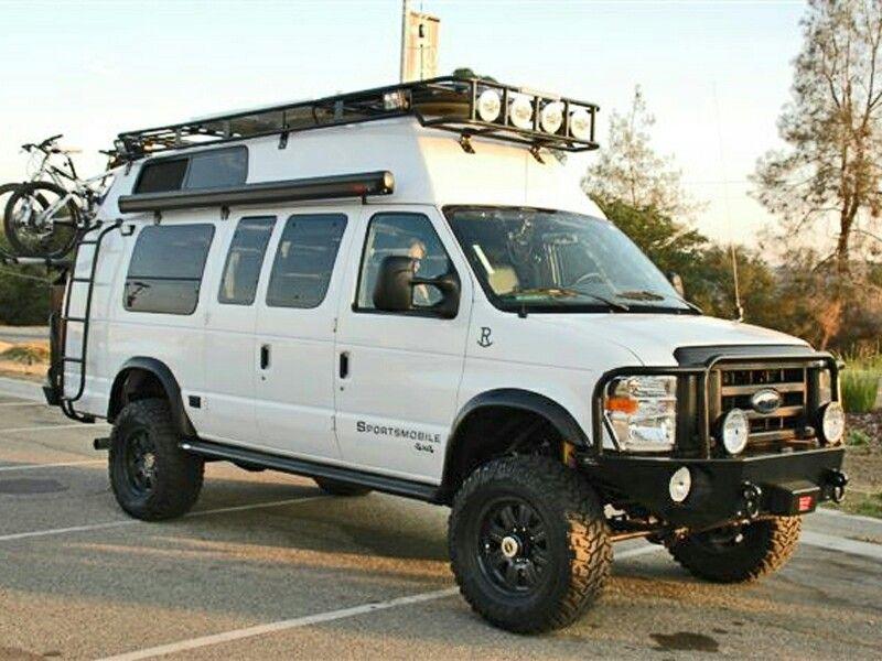 Vanlife Hightop Roofrack Camper 4x4 Van 4x4 Camper Van Van