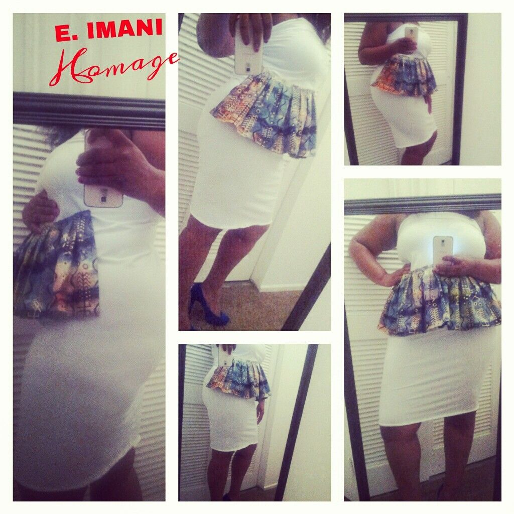 Fitted and fabulous! Custom made 'original people' pencil dress. $50. To order, go to squareup.com/market/e-imani-homage