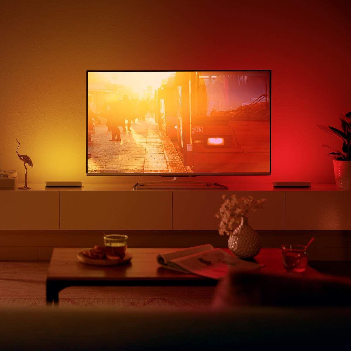 Moderne Smart Home Tischleuchten Waca Von Philips Hue Weiss