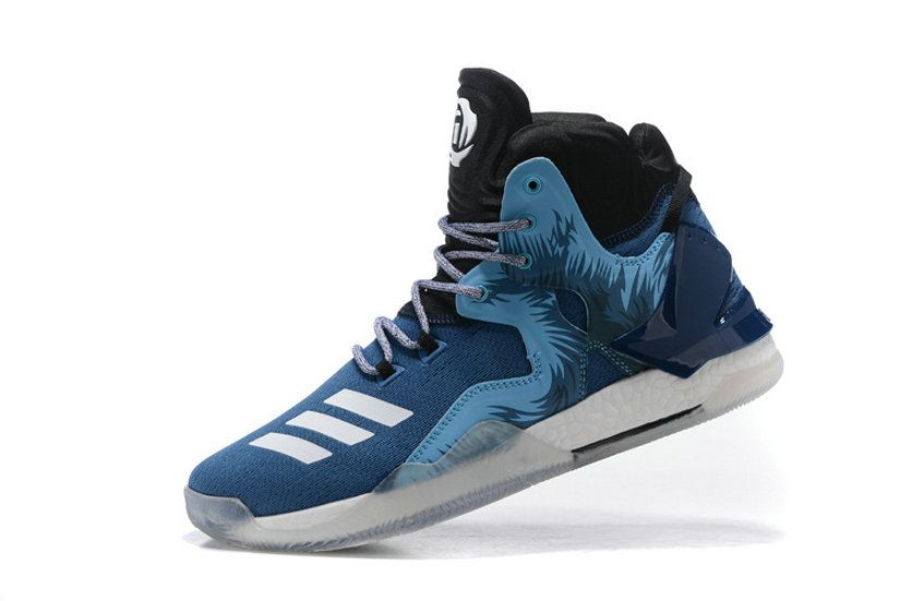 finest selection 55a5a fb6e2 Adidas Derrick Rose 7 Vii Navy Glacier Ice Core Black Original Sneaker