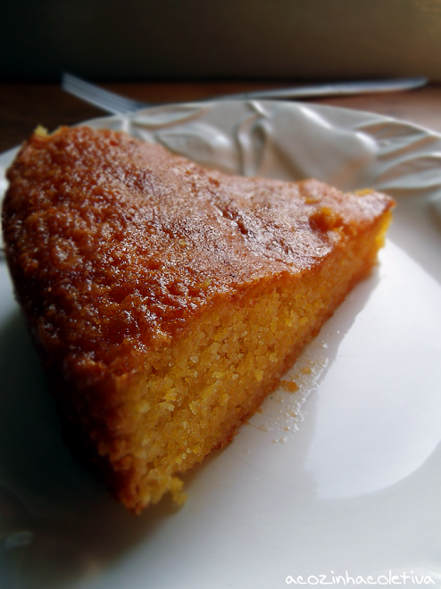 Lemon Cornmeal Cake Nigella