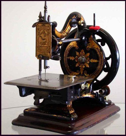 Agenoria 1850 | Máquinas de coser antiguas, Maquina de