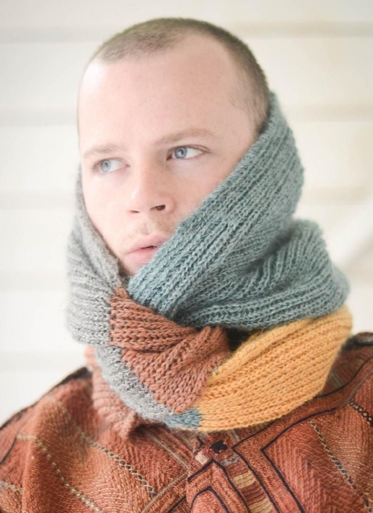 Ferocious Briocheous Free Knitting Pattern For A Cowl Or Snood By