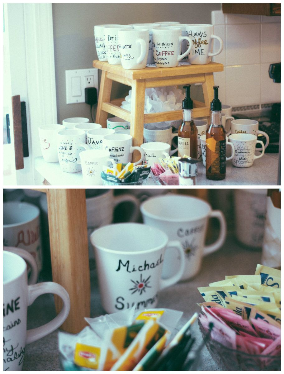 coffee themed bridal shower