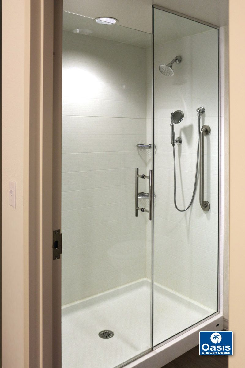 Frameless Shower Doors Panels With Images Shower Doors