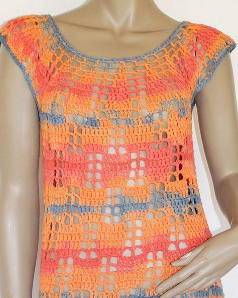 Kostenlose Anleitung Minikleid Gehäkelt Shirts Und Pullover