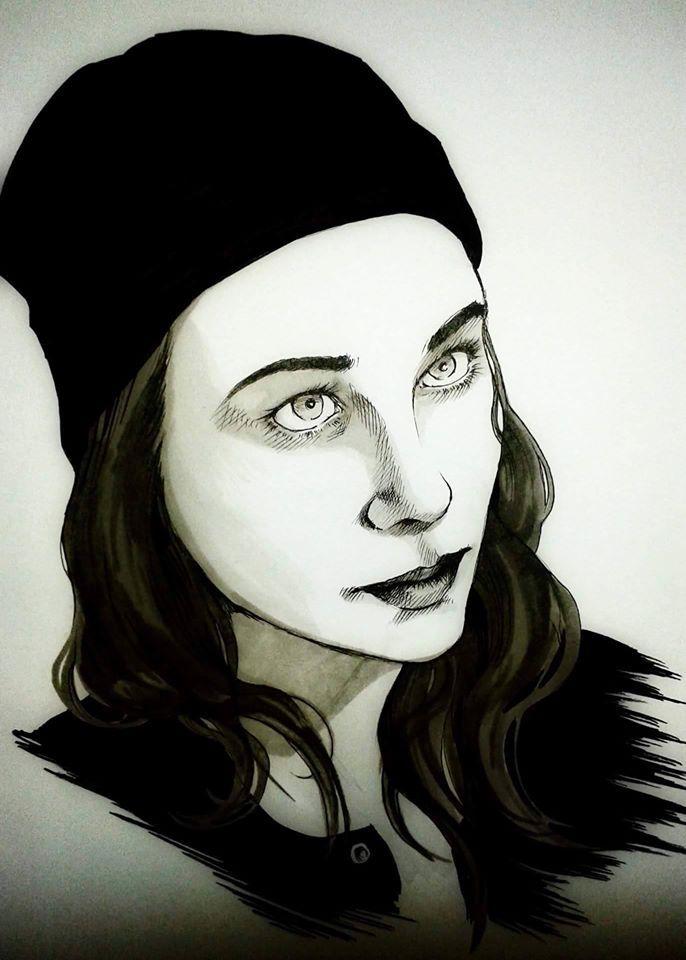 portrait myself #comic #art #artistic #character #ink #design #photography #pic #draw #tattoo #drawing #illustration #decoration #portrait