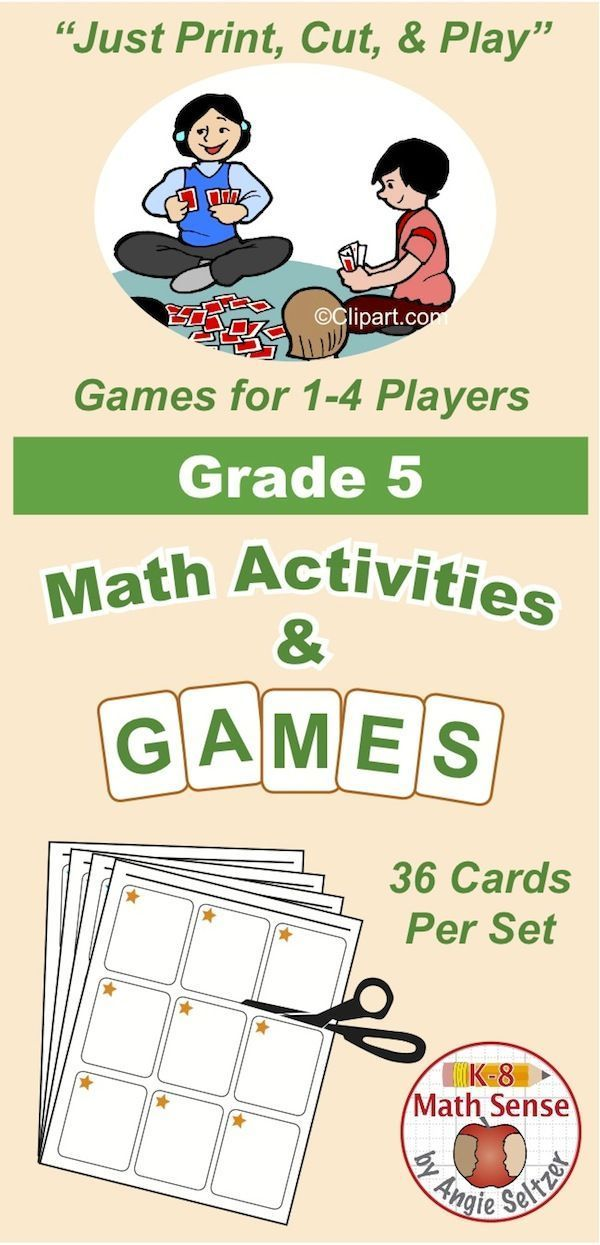 Find Multi-Match games and activities for Grade 5 at the K8 Math Sense store. You can also find these games at Teachers Pay Teachers and at Teacher's Notebook.