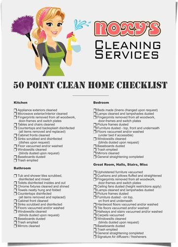 checklist-illustration.gif 361×500 pixels | house cleaning info ...