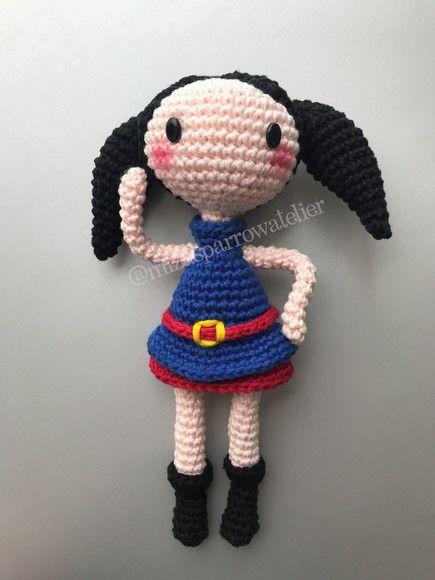 Este não é o produto final, É a receita de como executar a boneca da Luna com...
