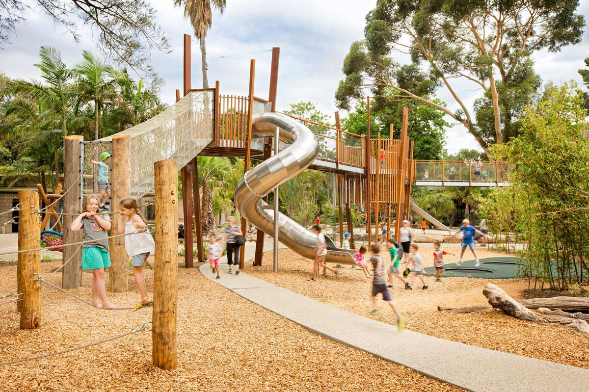 Australia adelaide zoo play space nature wax design 03 for Landscape architect adelaide
