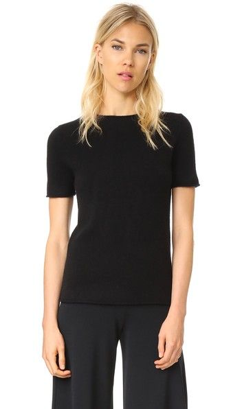 THEORY Cashmere Tolleree Short Sleeve Sweater. #theory #cloth ...