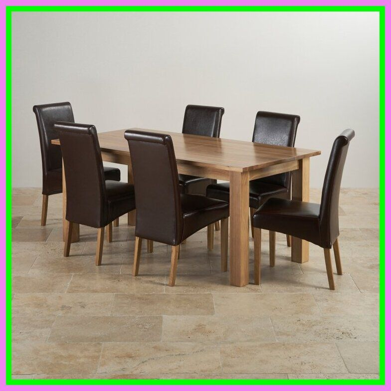 espresso dining chairs (set of 6)