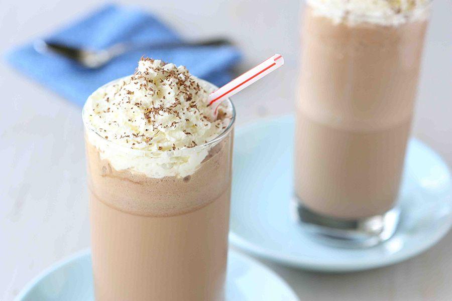 Mocha Brandy Frappe Recipe Frappuccino Recipe Frappe Recipe Dukan Diet