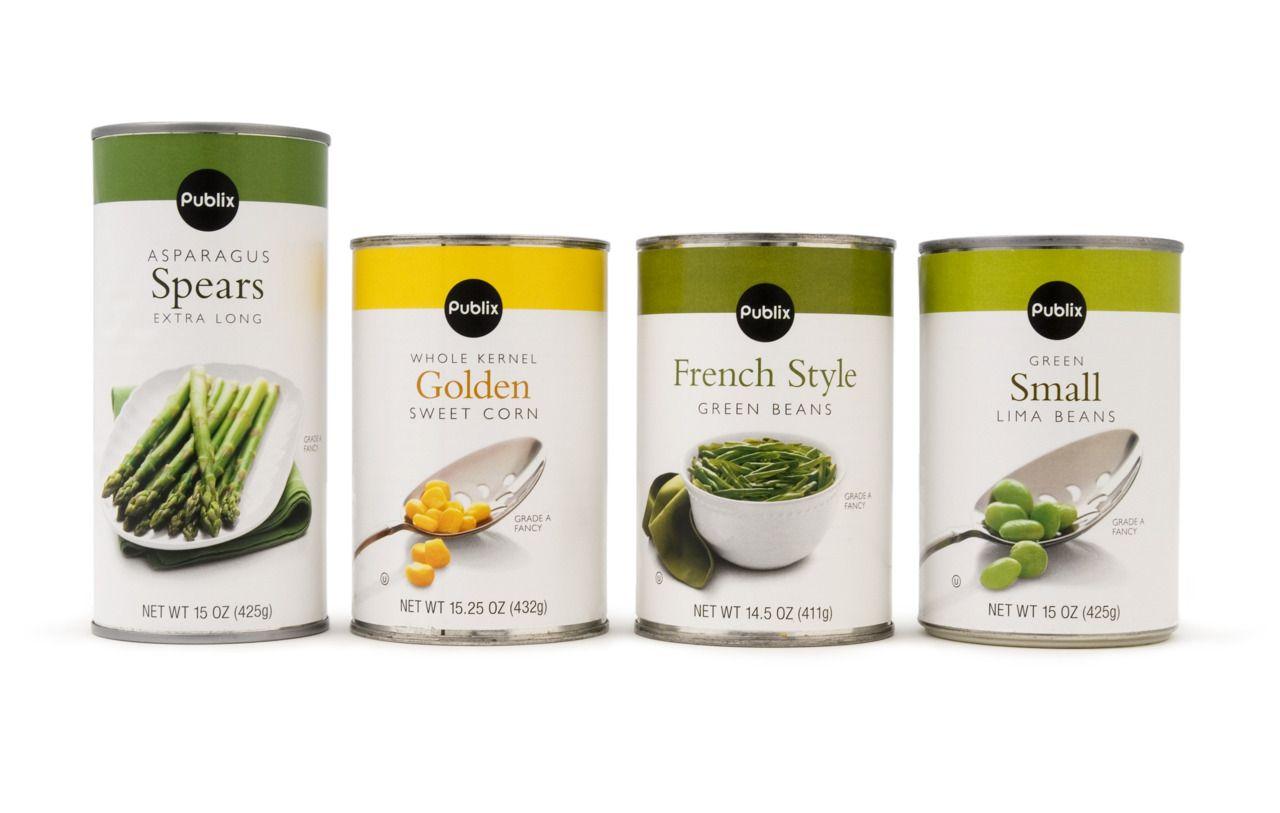 Publix Vegetable Packaging Food Packaging Design Publix