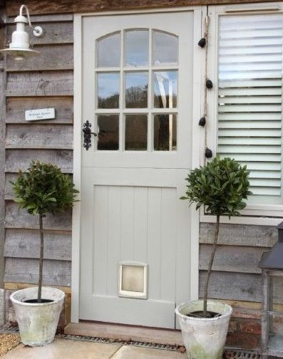 Back Door House Cottage Modern Country Style House