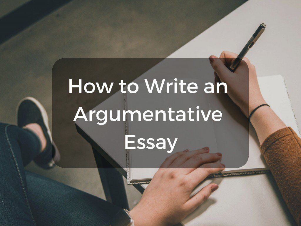 AC: How to Write an Argumentative Essay