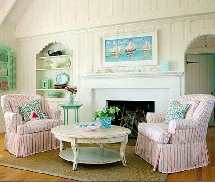 Off Center Wall Ideas. Coastal Living RoomsCoastal ...