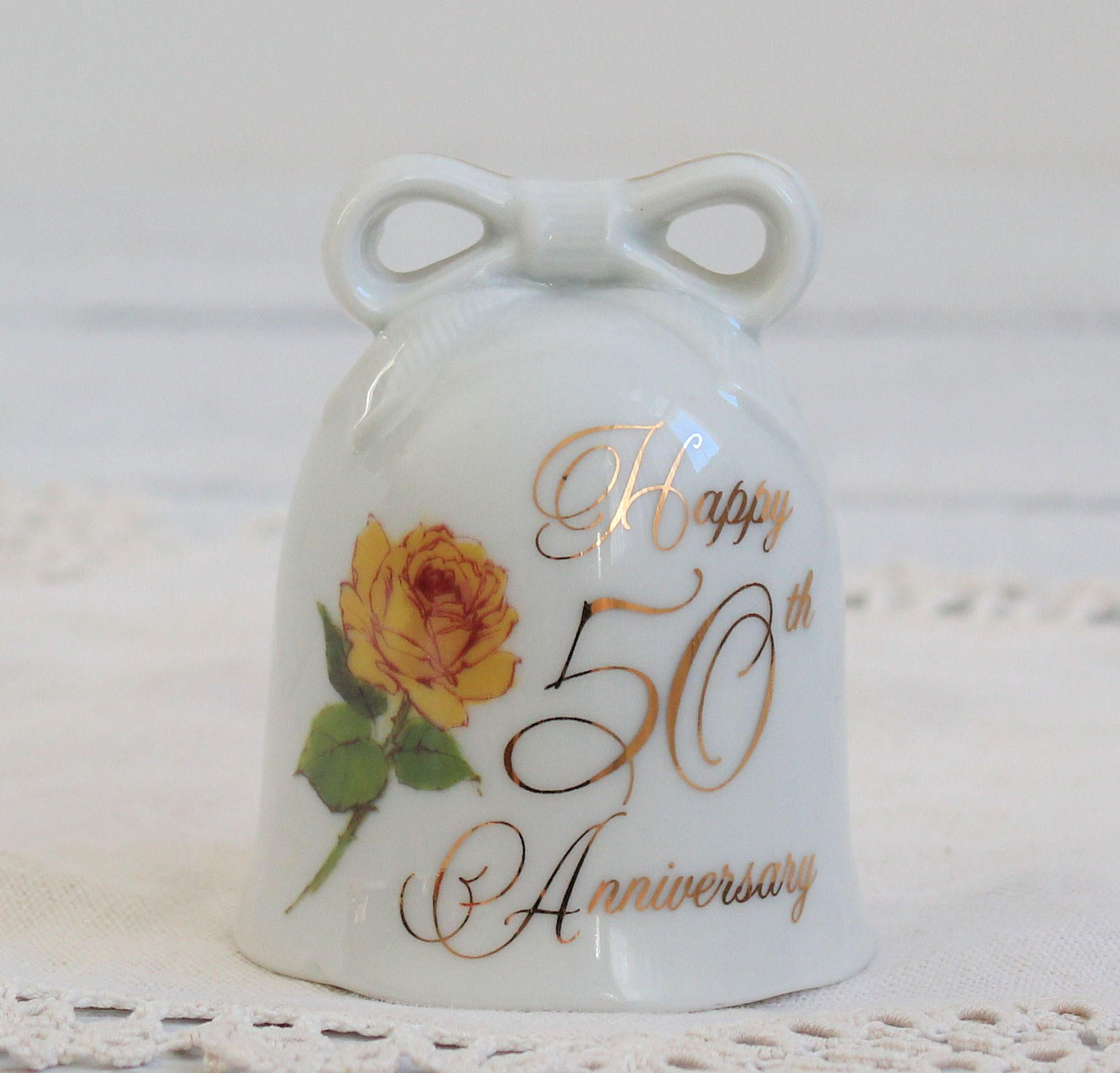 40th Anniversary Bell,Ruby,To Mother and Dad,Ceramic Gift Bell, 40th ...