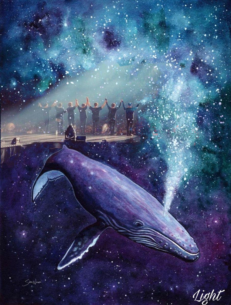 Bts Purple Dark Landscape Purple Galaxy Wallpaper Bts Wallpaper Bts purple whale wallpaper