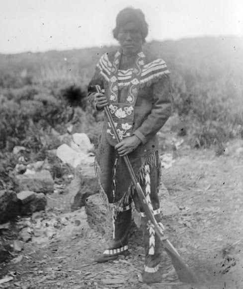 Indiana Native Plants: Athabascan Man - Circa 1879