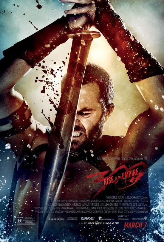 300 Rise Of An Empire Poster Empire Movie Empire Characters Movie Posters