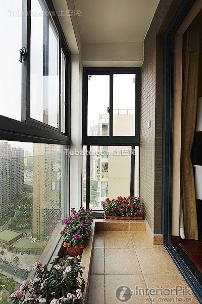 Closed the home balcony design case 2016 balcony design for Closed balcony