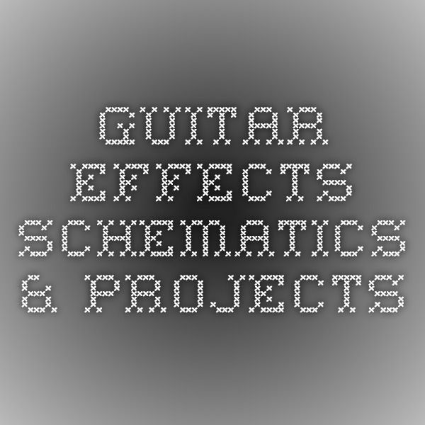 guitar effects schematics projects guitar electronics wiring diy guitar pedal guitar. Black Bedroom Furniture Sets. Home Design Ideas