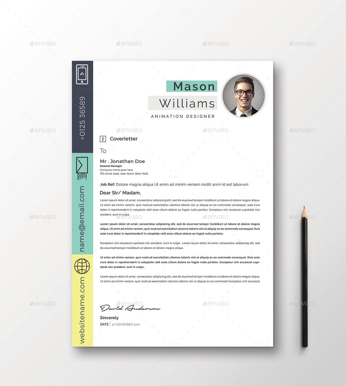 Resume Cv Word (With Images)