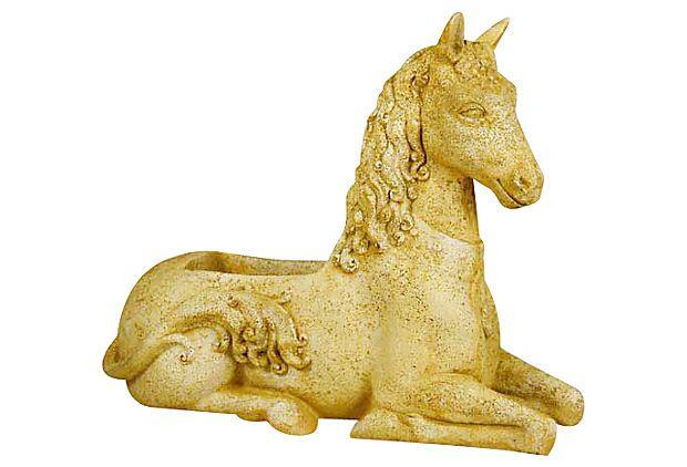 29 Quot Fantasy Horse Planter Pompeii On Onekingslane Com